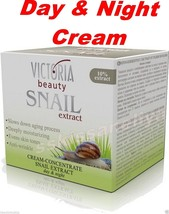 Victoria Beauty Anti Wrinkle Day and Night Repair Face Cream Snail Extra... - $15.04