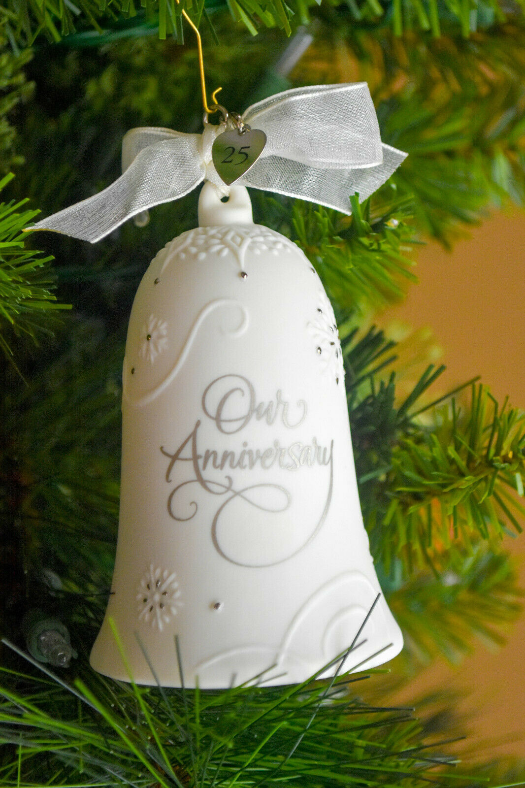 Hallmark: Anniversary Celebration - No CHARMS - Porcelain - NO DATE ON BELL image 4