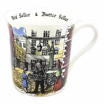 Bird Butter Seller Coffee Mug Cup 10oz Queens Cries England Vintage Chin... - $10.99