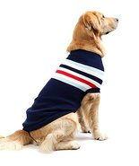 NACOCO Dog Sweater Pet Winter Sweaters Striped Holiday for Large Dog (Bl... - $14.84