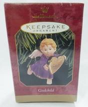 Hallmark keepsake christmas ornament godchild angel  - $9.90