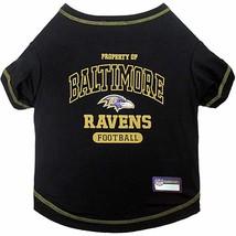 Pets First Baltimore Ravens T-Shirt, X-Large - $21.00