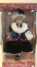 """Victorian Star Collection Genuine Porcelsin Doll 17"""" - $9.90"""