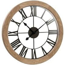 "Westclox 38004 15"" Round Wood Wall Clock - $48.48"
