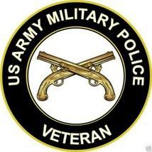 Us Army Military Police Veteran Bumper Sticker   - $9.89