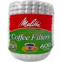 Melitta Basket Coffee Filters, 600 ct. (pack of 2) - $18.99