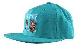 Hall Of Fame H Hound Wool Blend Embroidered Turquoise Snapback Baseball Hat Cap image 2