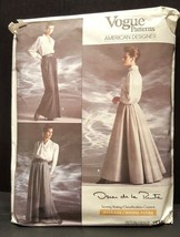 Vogue Sewing Pattern Oscar de la Renta Skirt #1934 Uncut - $10.00
