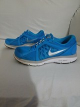 Nike Dual Fusion Run Running Shoes Size 8, Women's Blue & White 525752-400 - $27.76