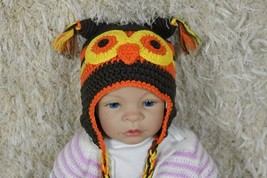 Knit Crochet Baby Child Kids Owls Hat Cap Beanie Newborn Photo Prop Hat ... - $4.99