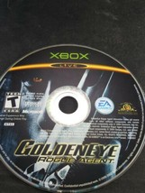 Original Xbox  Golden Eye Rogue Agent Video Game DISC ONLY - $4.94