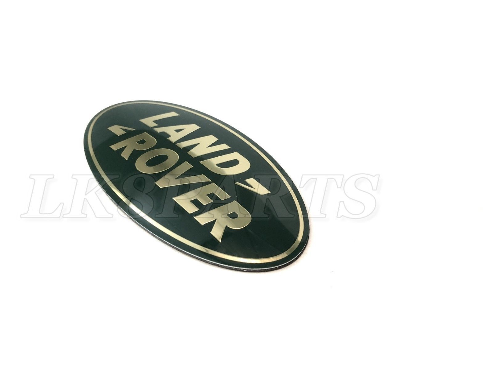 LAND ROVER DEFENDER 90 110 GREEN LAND ROVER FRONT GRILLE OVAL BADGE MXC6402