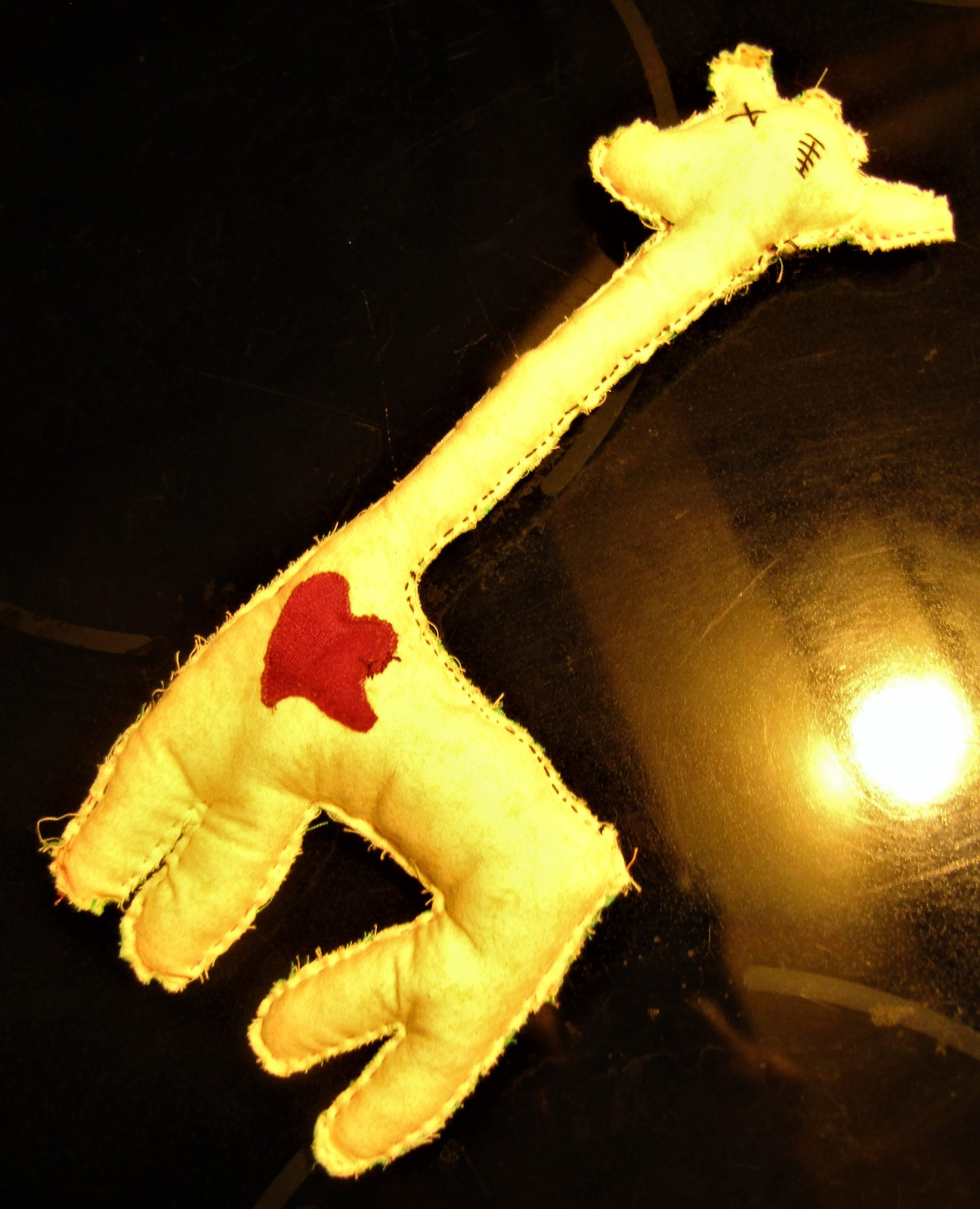 April the Giraffe VooDoo Stuffie~ QUAKERMAID           ships from Hudson