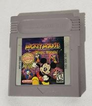 Disney's Mickey Mouse: Magic Wands (Nintendo Game Boy, 1998) - $9.64