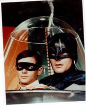 Batman Adam West Burt Ward 3C Vintage 8X10 Color TV Memorabilia Photo - $6.99