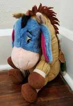 "Disney Store 14"" Eeyore as Toy Story Bullseye  Plush Toy - $16.44"