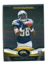 Nfl Vincent Brown 2011 Topps Platinum Refractor #101 Rookie San Diego Chargers - $1.13