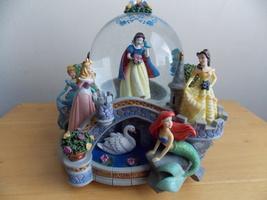 Disney Princess Garden Musical Snowglobe  - $125.00
