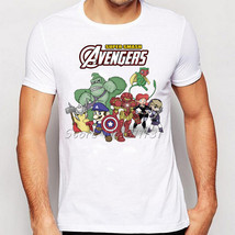 Newest Comic Super Mario Bro Avengers games Design Printed T Shirt Fashi... - $23.00
