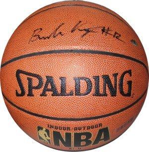 Brandon Knight signed Indoor/Outdoor NBA Basketball (Kentucky Wildcats/Phoenix S