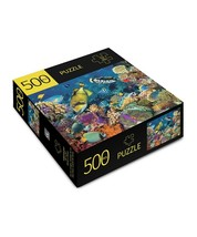 """Coral Reef Jigsaw Puzzle 500 pc 28"""" x 20"""" Durable Fit Pieces Ocean Giftcraft   image 2"""