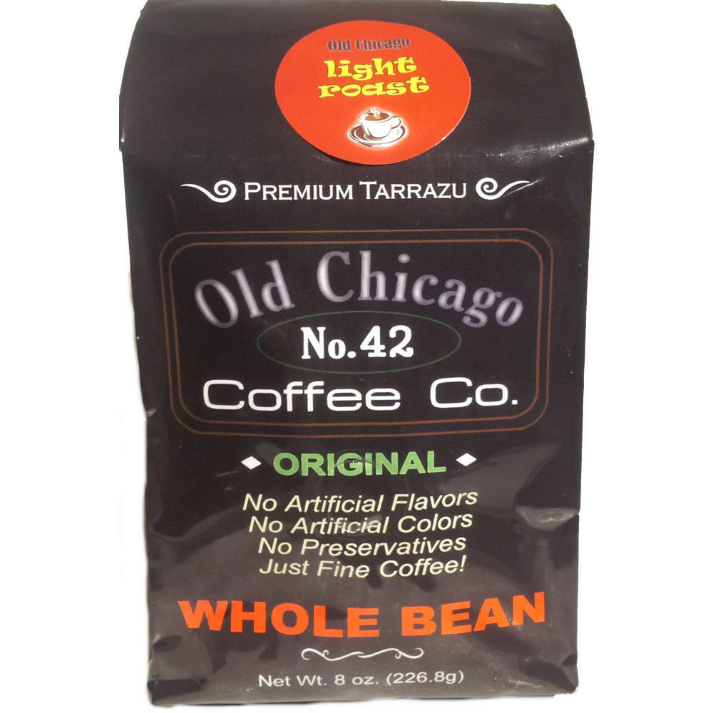 Old Chicago Coffee No. 42 - Light Roasted Coffee Beans - Premium Costa Rican - $8.65