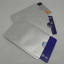 10 RFID Blocking Sleeves, Card Protector, Credit Card Secure Protection ... - $6.92