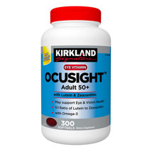 Kirkland Signature Ocusight Adult 50+, 300 Softgels - $40.49