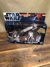 Star Wars BARC Speeder With Clone Trooper W/ Rolling Wheels - $41.53