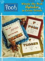 Cross Stitch Winnie The Pooh & Friends Alphabet Borders Icons Projects P... - $21.99