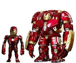 NEW ARTIST MIX Avengers IRON MAN MARK 43 XLIII & HULKBUSTER DXSetFigureH... - $250.15