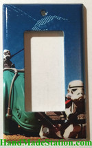 Lego Star Wars White Soldiers Light Switch Power Outlet Cover Plate Home decor image 2