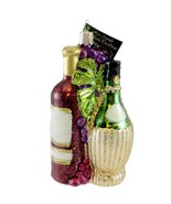 Old World Christmas FRUIT OF THE VINE 32144 Ornament Wine New - $18.42