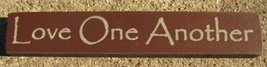 32318LM - Love One Another Mini Wood Block - $2.25