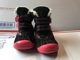 Child of Mine Carters Winter Snow Boots Size 7 Toddler Little Kids Pink ... - £7.33 GBP