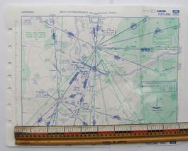 Vtg aeronautical chart Portland OR 1989 Jeppesen aviation map PDX Oregon - $20.57