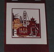 San Francisco Cross Stitch Pattern Chart Diana Gordon Design 152 x 130 S... - $16.78