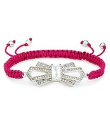 Juicy Couture Deco Bow Friendship Bracelet (Pink) YJRU7368 - $39.99