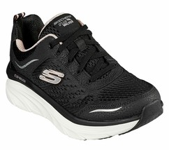 Skechers Walker Black Shoes Women Sport Comfort Memory Foam Soft Cushion... - $39.99