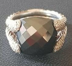 David Yurman Willow Hematite Diamond Cocktail Ring - $650.50