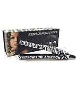 "ISO Beauty Travel 0.5"" Mini Silk Tiger or Zebra Mini Iron Hair Straightener - $49.99"
