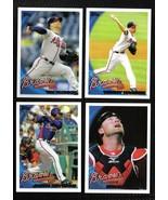 2010 Topps Atlanta BRAVES Team Set Both Series 1 & 2 (22 cards) - $2.00