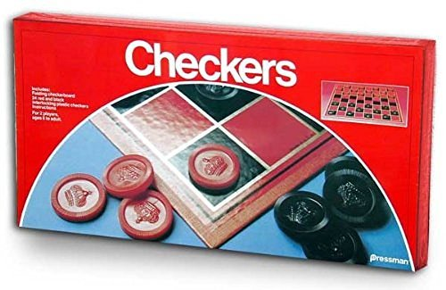Primary image for Pressman Toy Checkers Folding Board Game-1 Pack