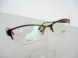 MODO JAPAN TITANIUM Mod. 4020 (BWN) Brown 52 x 18 143 mm Eyeglass Frames - $39.55