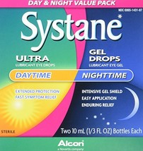 Systane Day & Night Eye Drops Value Pack, Two 10-mL Bottles - $26.33