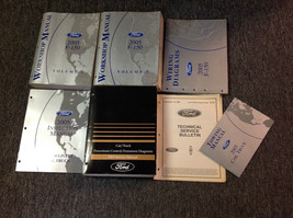2005 Ford F-150 F150 Truck Service Repair Shop Manual SET OEM W PCED EWD... - $296.99