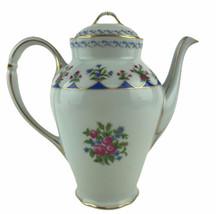 Bernardaud Limoges France Chateaubriand Porcelain Coffeepot & Lid Vintag... - $186.61