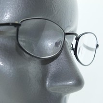 Reading Glasses Skinny Narrow Low Profile Black Metal Frame +3.00 Lens - $16.00