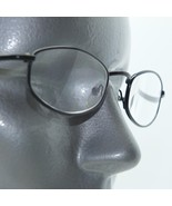 Reading Glasses Skinny Narrow Low Profile Black Metal Frame +3.00 Lens - $16.00