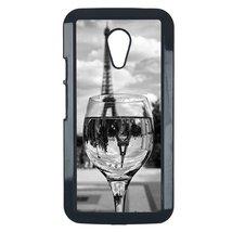 Coloful wine with Paris Motorola Moto G case Customized premium plastic ... - $10.88